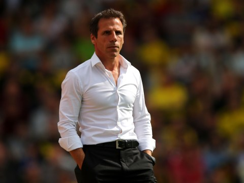 Gianfranco Zola 'flattered' as he emerges as new favourite for Sunderland job