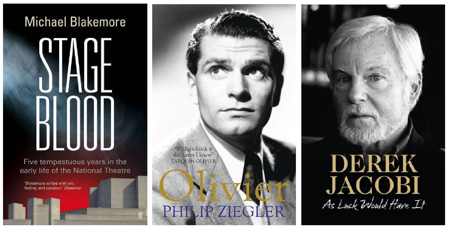 Theatre biographies: Revel in the drama of Blakemore, Olivier and Jacobi
