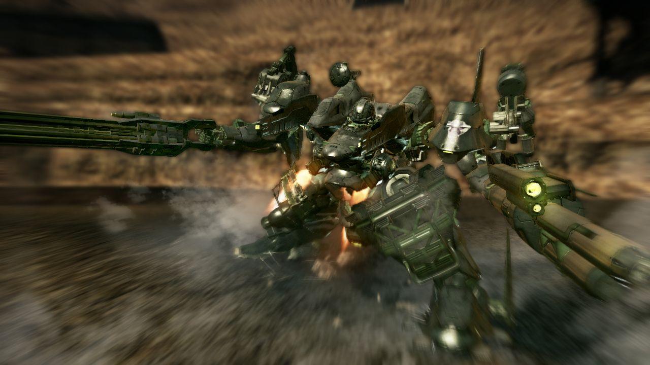Armored Core: Verdict Day (PS3) – robot turismo