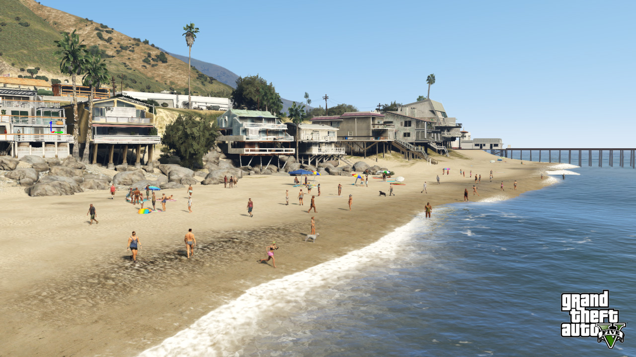 Grand Theft Auto V - wish you were here?