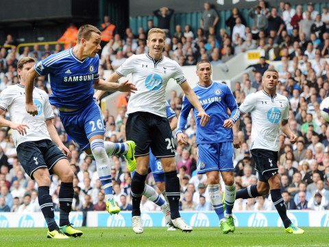 John Terry header rescues a point for Chelsea in crunch derby with Tottenham
