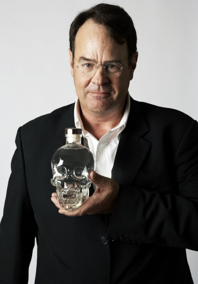 Dan Akroyd with his Crystal Head tipple (Picture: supplied)