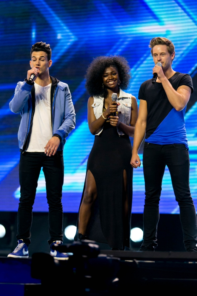 Dynamix on The X Factor 2013