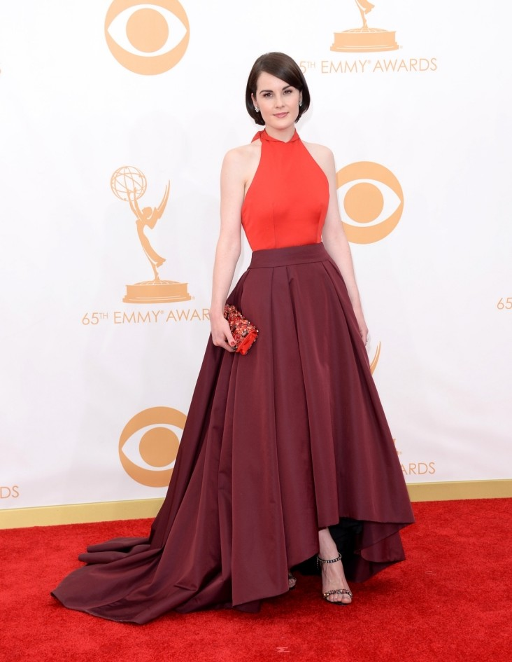 A night of fashion fails at the 2013 Emmy Awards: From Downton Abbey's Michelle Dockery to Girls' Lena Dunham