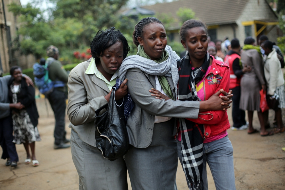 Briton arrested as Kenya counts cost of terror mall siege