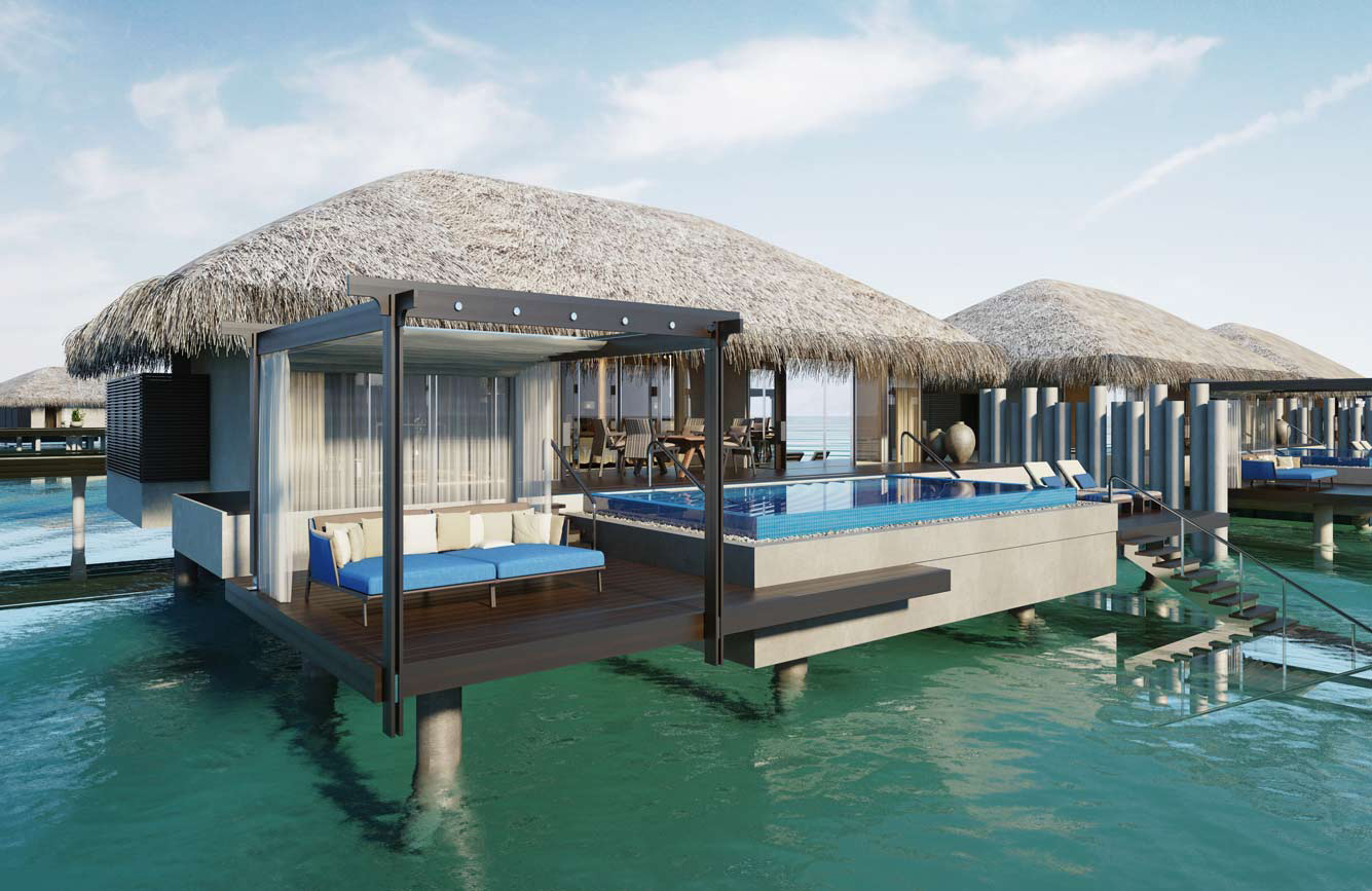 Travel to a private island in The Maldives, where luxury is taken to a new level