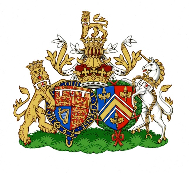 Duke and Duchess of Cambridge get new coat of arms