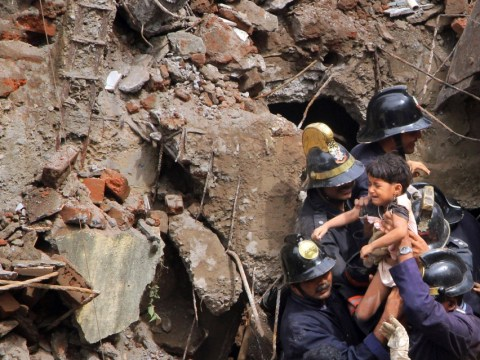 Mumbai building collapse: Child rescued after 11 hours trapped under rubble