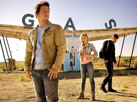 Mark Wahlberg is moody in Transformers: Age of Extinction first official cast photo
