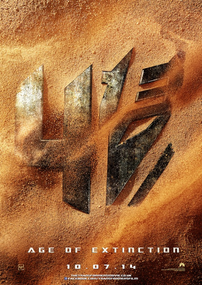 The first poster for Transformers 4: Age of Extinction (Picture: Paramount)