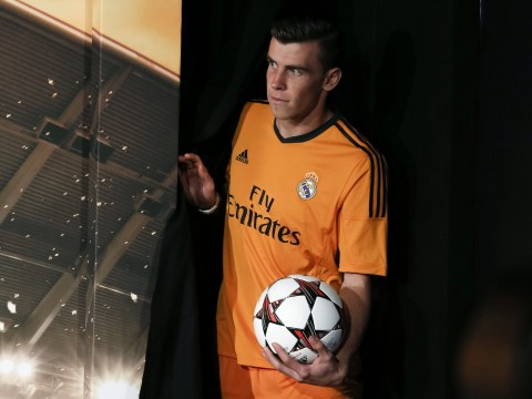 Gallery: Gareth Bale launches the Real Madrid Champions League kit