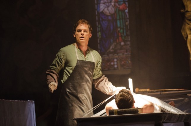 The magic is beginning to rub off Dexter, as played by Michael C Hall (Picture: Randy Tepper/Showtime)