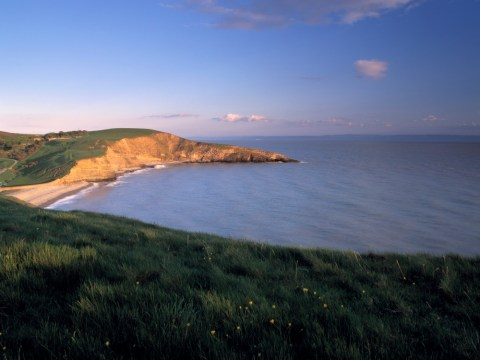 Man dies and woman hospitalised after 150ft cliff fall at Doctor Who beach