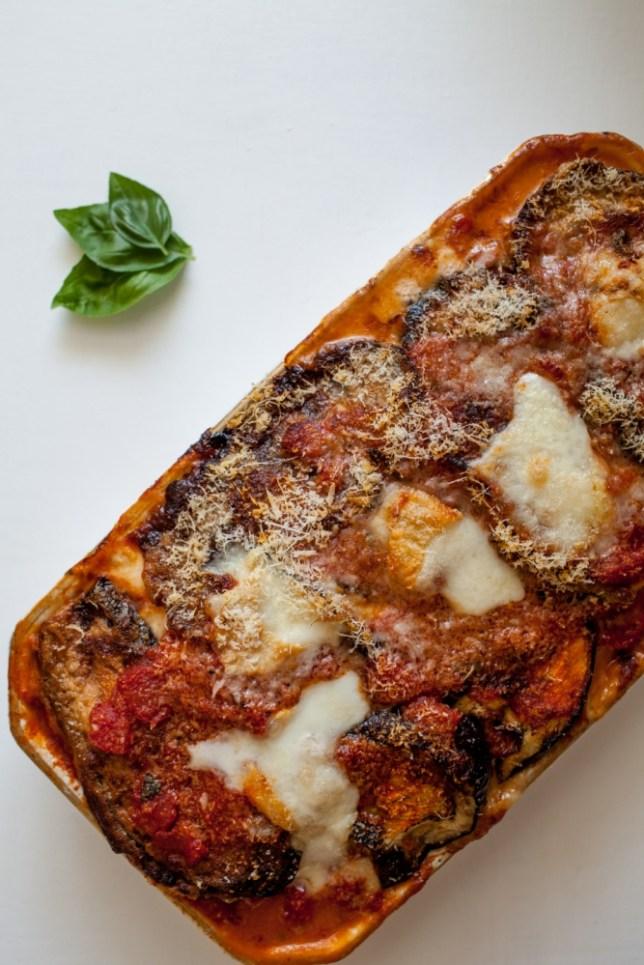 Chloe Scott tests several ways of making the ultimate melanzane alla Parmigiana (Picture: Oli Jones)