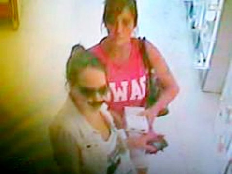 Woman wearing false nose and moustache wanted over perfume theft