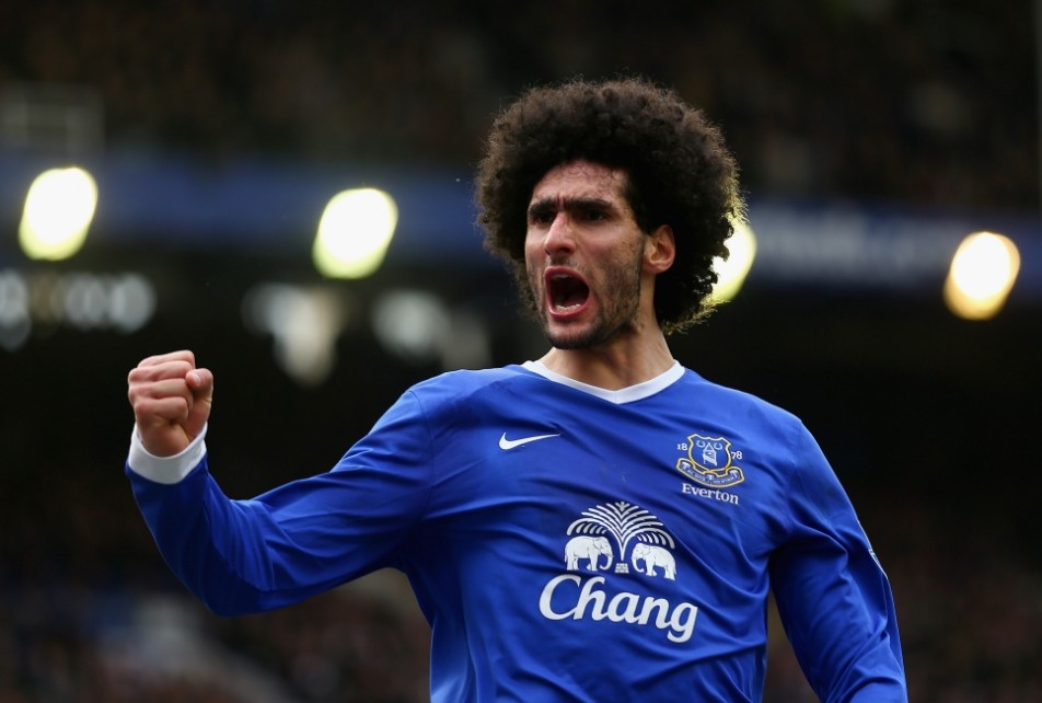 Marouane Fellaini thanks Everton fans on Twitter but gushes at David Moyes Manchester United link up