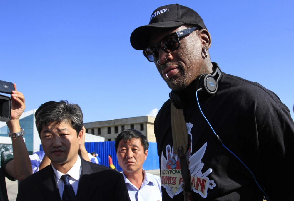 Dennis Rodman heads to North Korea for second time to visit 'my friend' Kim Jong-un