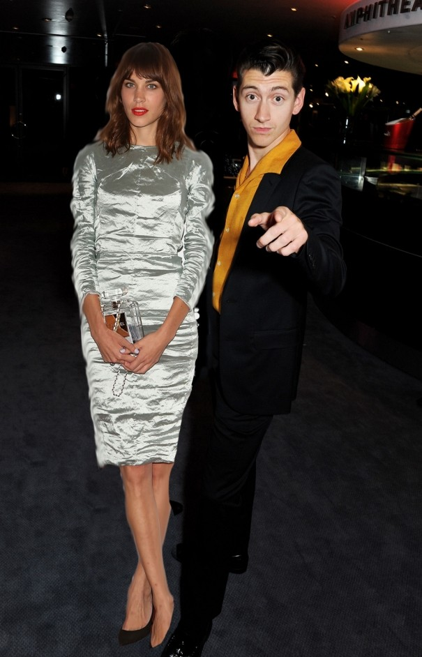 Awkward! Alexa Chung and Arctic Monkeys star Alex Turner among ex-reunions at GQ Awards
