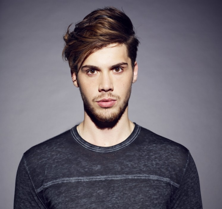 Aiden Grimshaw is a fan of Lulu James and Kings Of Leon (Picture: William Baker)