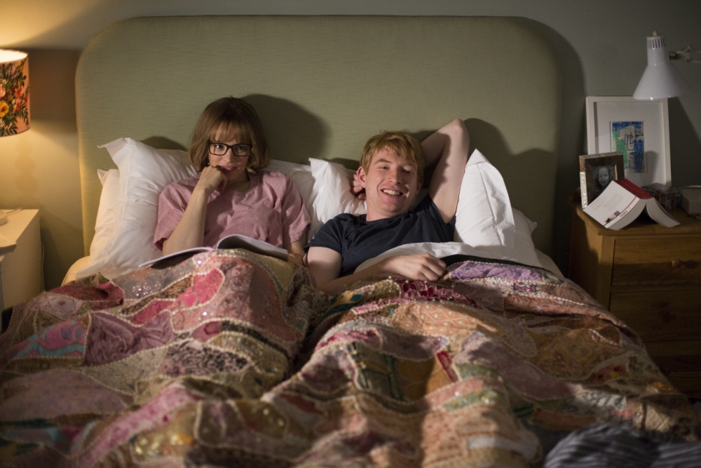 Rachel 'Fringe' McAdams and Domhnall 'Hugh' Gleeson in About Time (Picture: supplied)