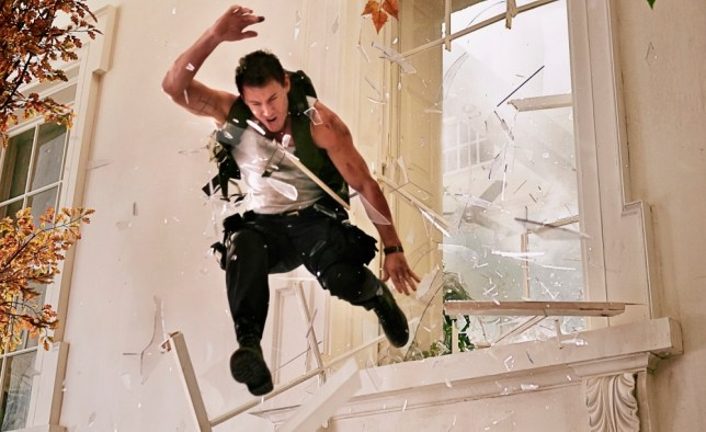 """Channing Tatum stars in Columbia Pictures' """"White House Down,"""" also starring Jamie Foxx."""