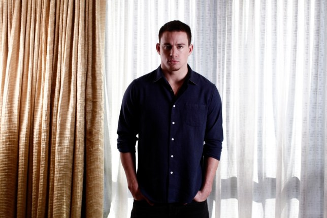 Channing Tatum came to acting via modelling (Picture: Eyevine)