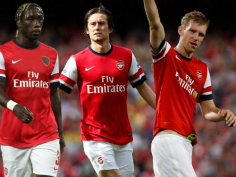 Arsenal set to offer new contracts to Bacary Sagna, Per Mertesacker and Tomas Rosicky