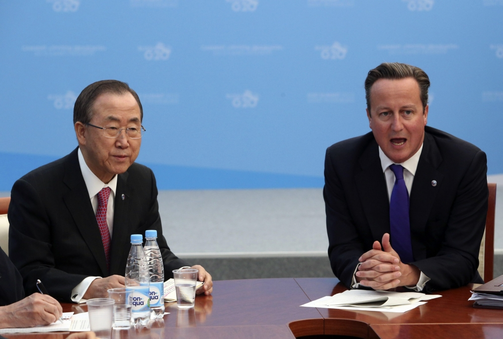 David Cameron pledges £52m additional UK humanitarian aid to Syria