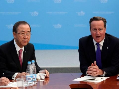 David Cameron pledges £52m additional UK humanitarian aid to Syria