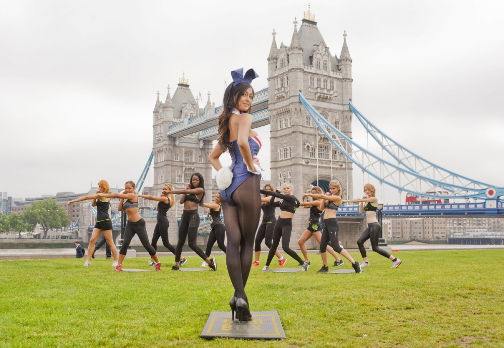Playboy bunny bootcamp hops into the UK