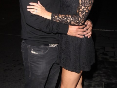 They've gone public! Kym Marsh and Jamie Lomas show they're finally back on track with amorous display