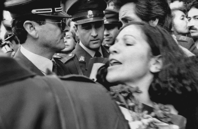 Augusto Pinochet: Photographer shines a light on Chile's '9/11'of disappeared political prisoners demand justice at rallies in 1985. Santiago; Chile