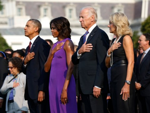 'We will stand vigilant': Barack Obama leads America in a day of reflection and tears on 9/11 anniversary