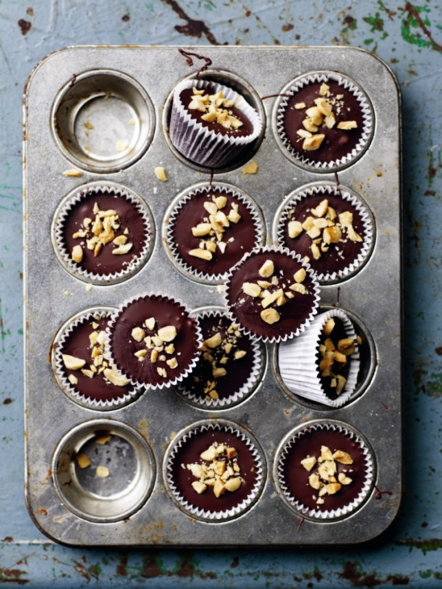 Make these delicious peanut butter cups (Picture: Tara Fisher)