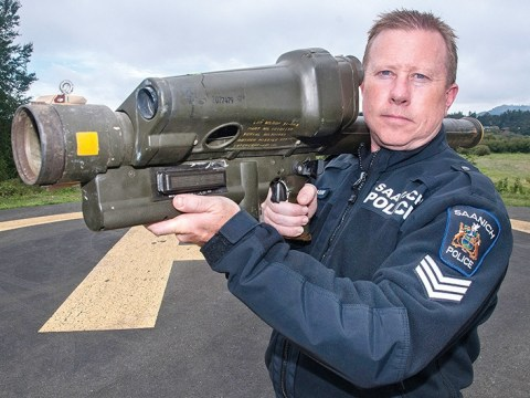 Hazardous waste: Rocket launcher dumped in rubbish bin