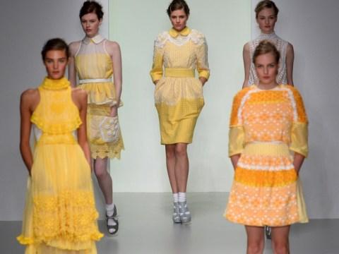 London Fashion Week: Bora Aksu's burst of colours is a nod to his native Turkey
