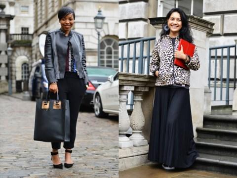 What Metro Is Wearing At London Fashion Week — Day 1