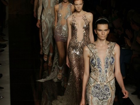 London Fashion Week: Julien Macdonald keeps it glam and predictable