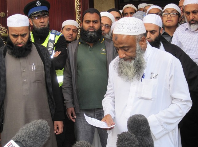 Muhammad Taufiq Al Sattar outside his local mosque in Leicester, speaking about the loss of his wife, daughter and teenage sons in a severe fire at their home in Wood Hill, Leicester. PRESS ASSOCIATION Photo. Picture date: Saturday September 14, 2013. Five people have been arrested in connection with the suspected arson attack which claimed the lives of four members of the same family. Leicestershire Police said three women aged 19, 20, and 27, and two men, aged 49 and 19, were detained over the fatal blaze today. See PA story FIRE Leicester. Photo credit should read: Matthew Cooper/PA Wire