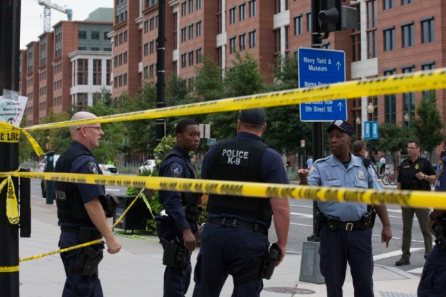 Washington DC Navy Yard shooting: Several dead after 'gunmen in military uniforms' open fire at navy base