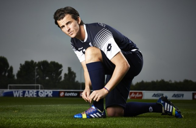 Kicking out homophobia: Barton tackles the campaign (Picture: Ben Duffy)