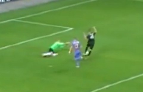 VIDEO: Estonian player scores goal with his crown jewels in cup final