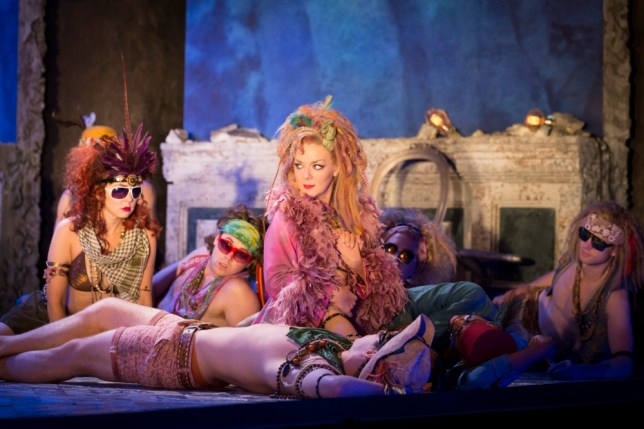 Sheridan Smith as Titania in Michael Grandage's A Midsummer Night's Dream (Picture: Johan Persson)