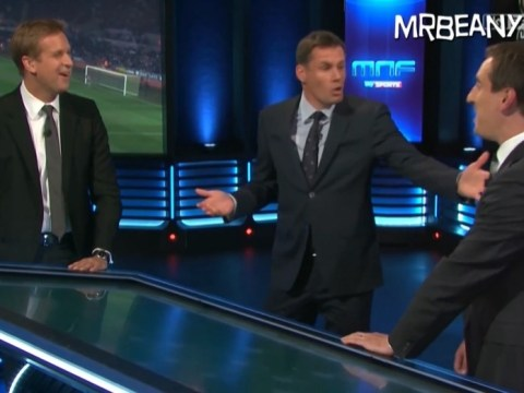 Jamie Carragher says 'no one wants to grow up and be a full-back like Gary Neville'