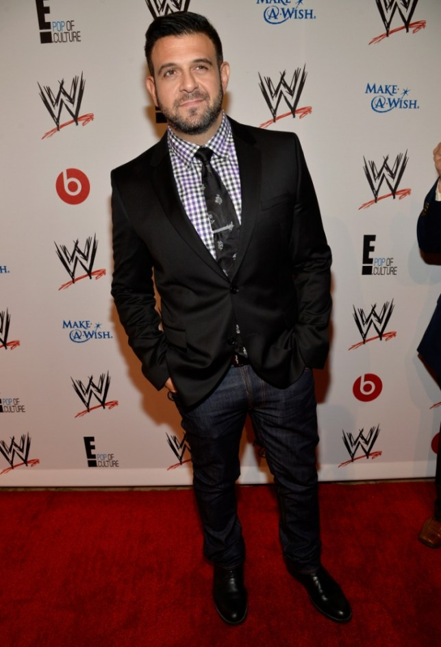 The 46-year old son of father (?) and mother(?) Adam Richman in 2020 photo. Adam Richman earned a million dollar salary - leaving the net worth at million in 2020