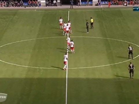 Pioneering Red Bull Leipzig's new tactics see them score a goal straight from kick-off