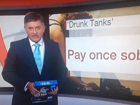 Pay-per-view: BBC News presenter goes on screen with wad of A4 sheets after mistaking it for iPad