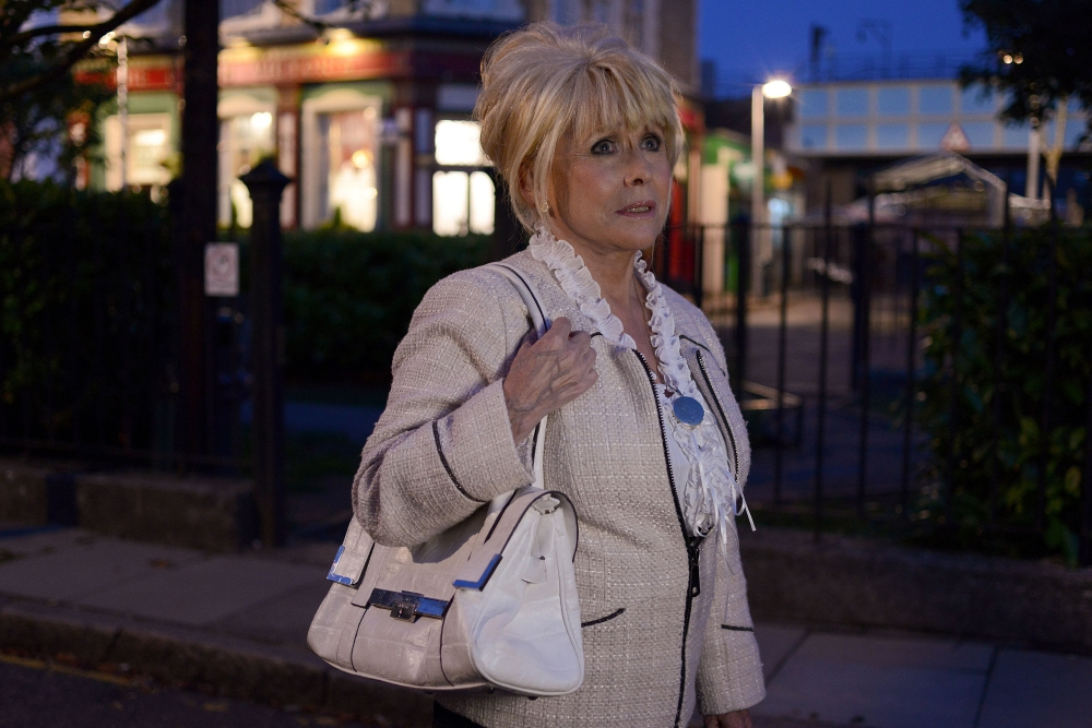 EastEnders spoilers: Peggy Mitchell to bow out 'in style' as cast prepare to film funeral scenes