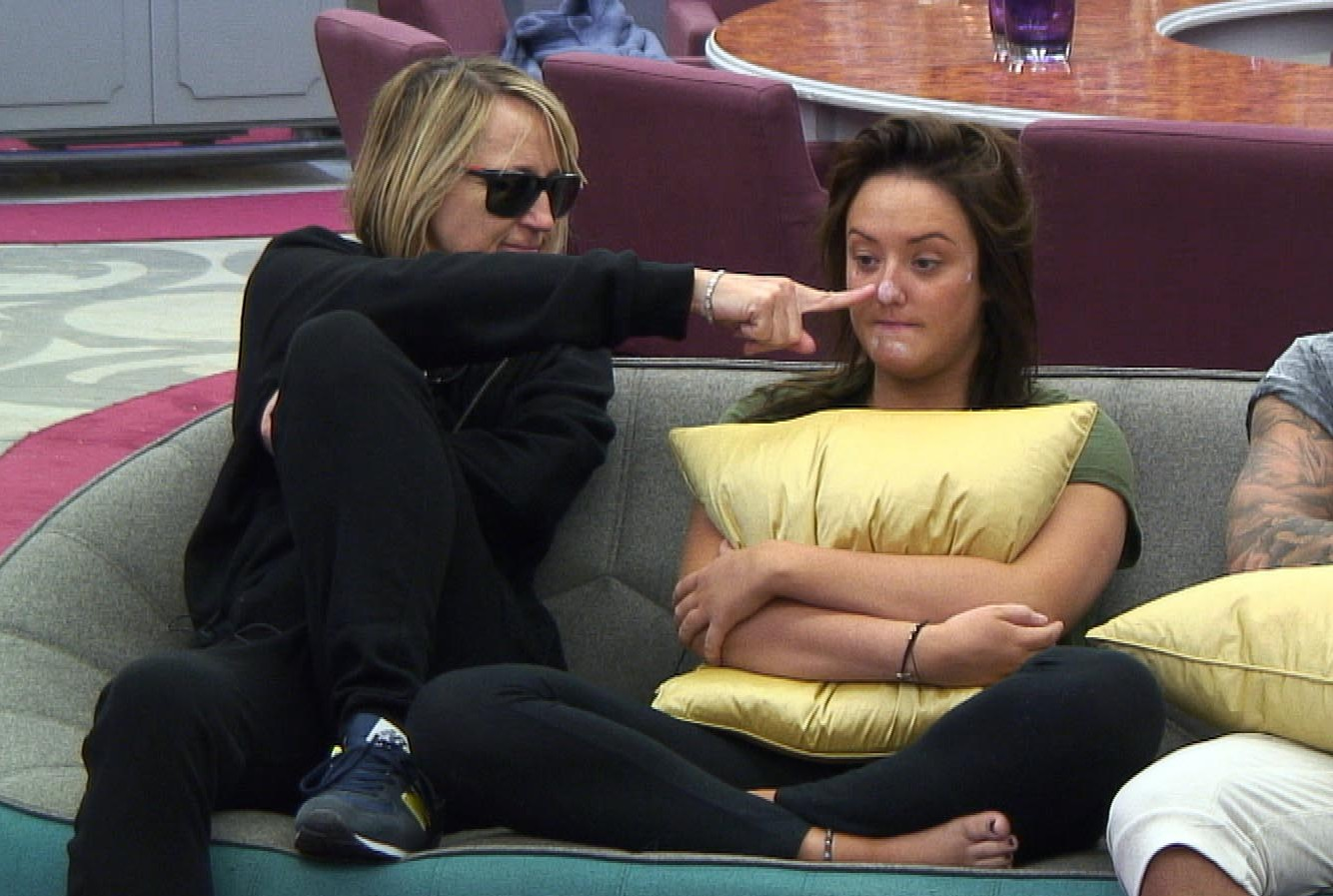 Celebrity Big Brother 2013: Carol McGiffin backing Charlotte Crosby to win over 'boring' Abz Love