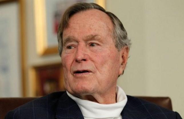 George Bush Sr, Nelson Mandela